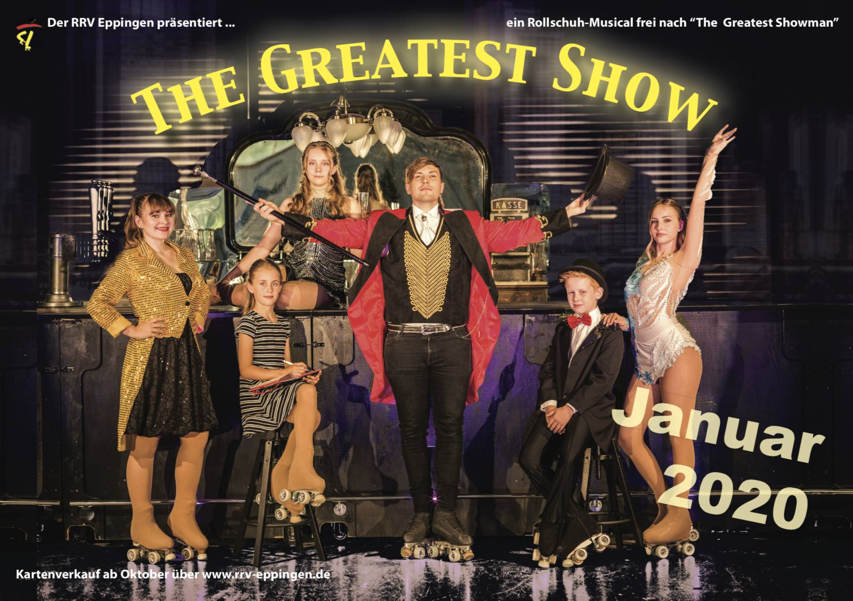 Kartenbestellung für The Greatest Show 2020